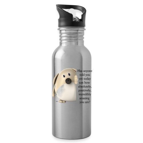 amazing dog (for light) - Water Bottle