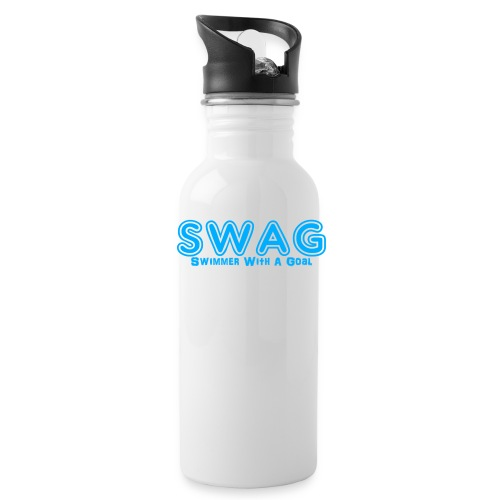 SWAG Swimmer With a Goal - Water Bottle