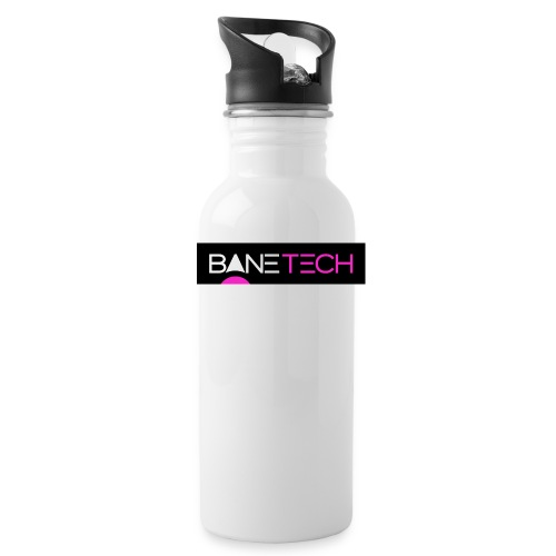 Bane Tech Logo Black/Pink - Water Bottle