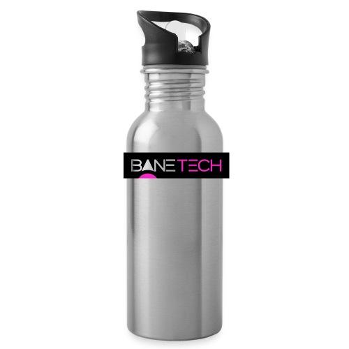 Bane Tech Logo Black/Pink - Water Bottle