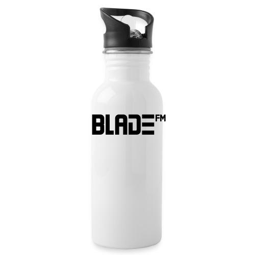 Black BladeFM Logo - Water Bottle