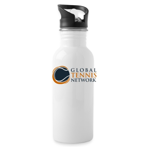 Global Tennis Network on White - Water Bottle