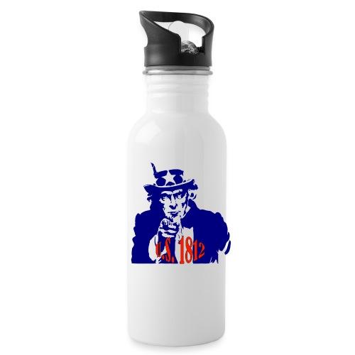 uncle-sam-1812 - Water Bottle