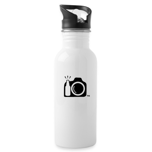 BlackonBLANK No Initials png - Water Bottle