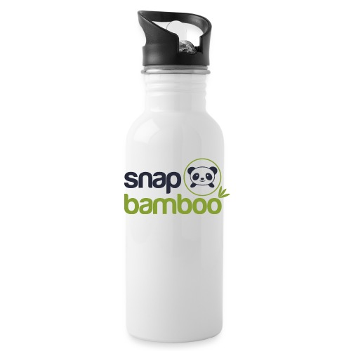 Snap Bamboo Square Logo Branded - Water Bottle