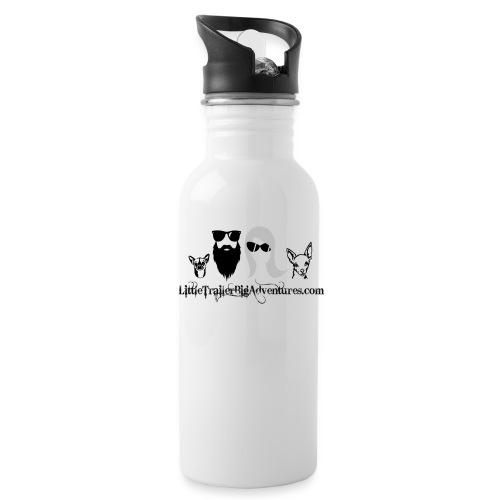 LTBA Heads Logo - Water Bottle