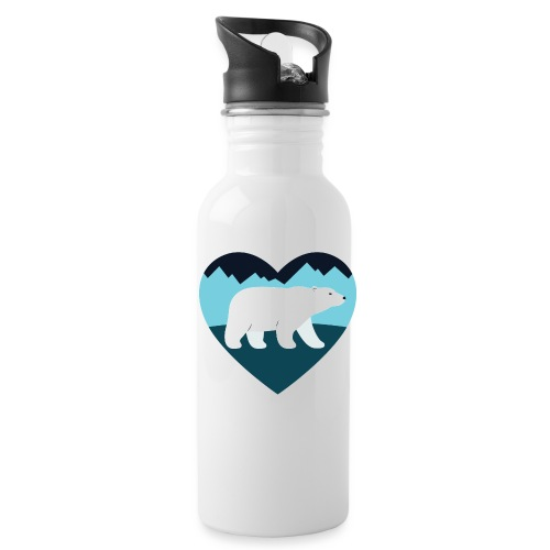 Polar Bear Love - Water Bottle
