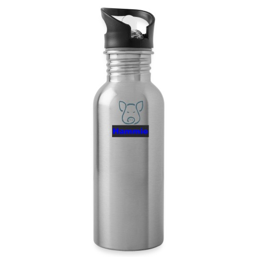 Hammie Logo with Brand Name - Water Bottle