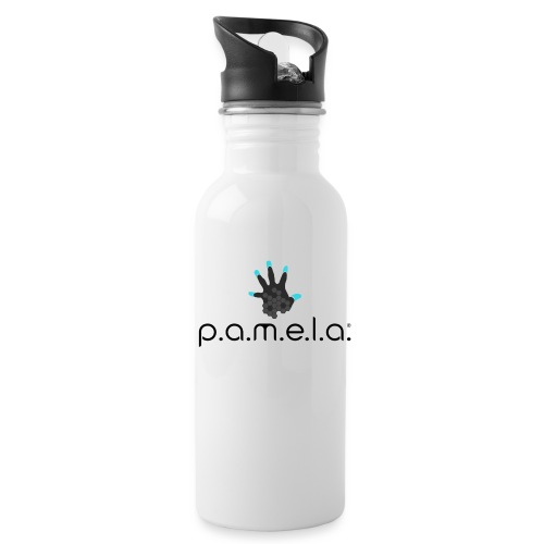 P.A.M.E.L.A. Logo Black - Water Bottle