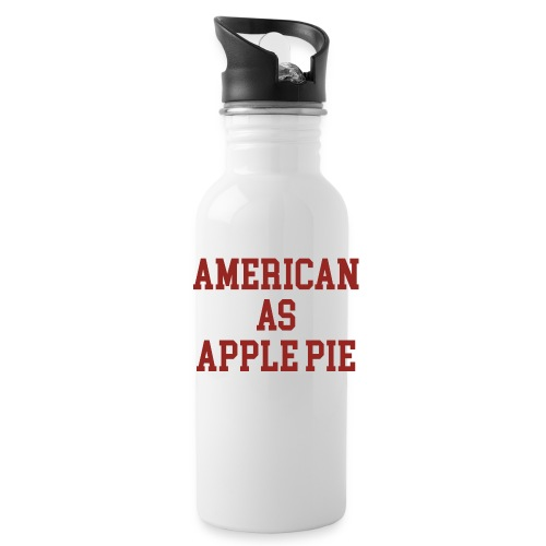 American as Apple Pie - Water Bottle