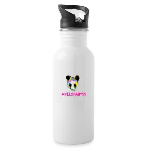 Axelofabyss panda panda paint - Water Bottle