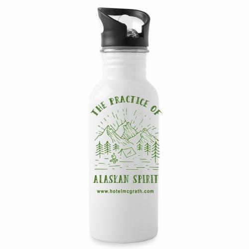 Alaskan Spirit green - Water Bottle