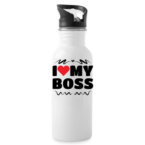 I love my Boss - Water Bottle