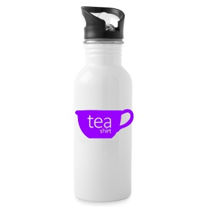 Tea Shirt Simple But Purple - Water Bottle