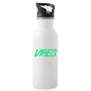 GREEN AND BLUE LOGO - Water Bottle