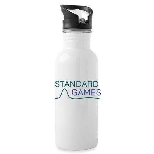 standardgames-logo-hat - Water Bottle