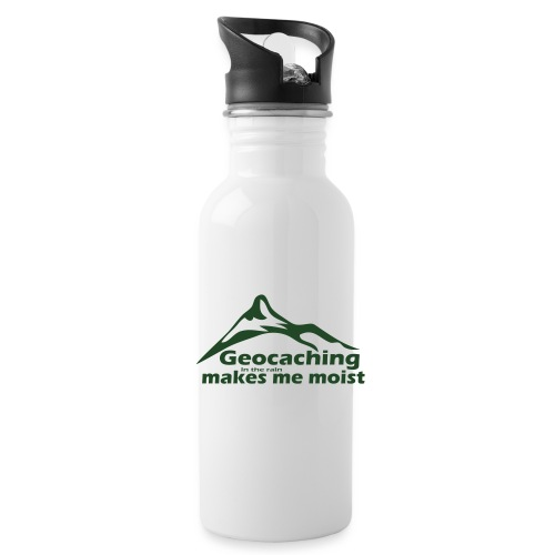 Geocaching in the Rain - Water Bottle