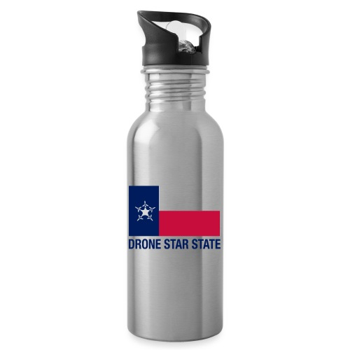 Drone Star State - Long Sleeve - Water Bottle