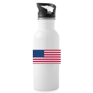 usa flag - Water Bottle