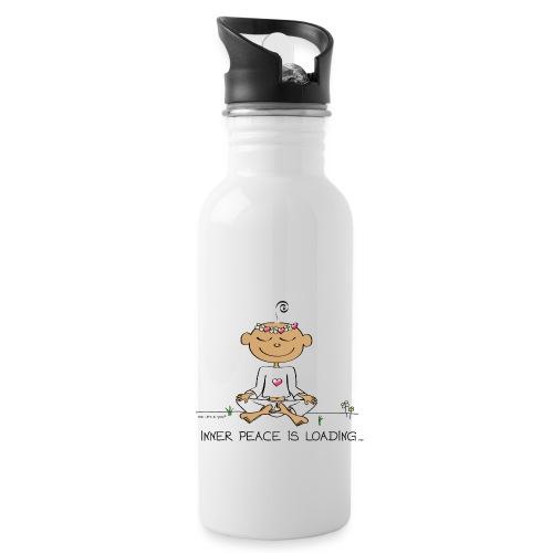 Inner Peace is Loading - Water Bottle