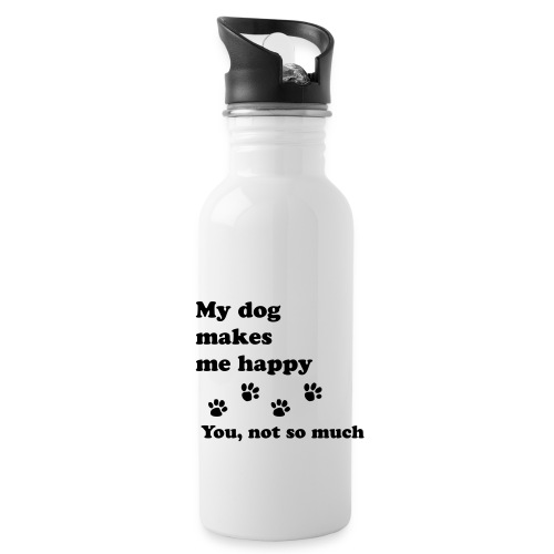 love dog 2 - Water Bottle