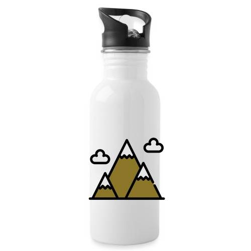 The Mountains - Water Bottle