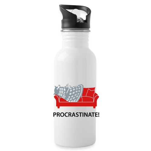 Dalek Procrastinate - Water Bottle