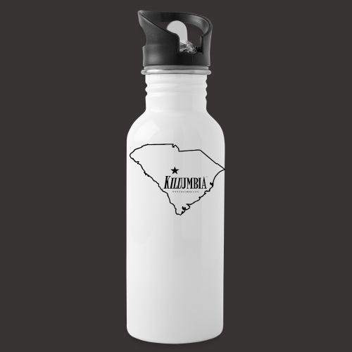 Killumbia Map (Black) - Water Bottle