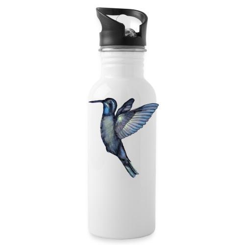 Hummingbird in flight - Water Bottle