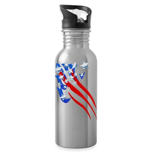 Sweeping Old Glory - Water Bottle