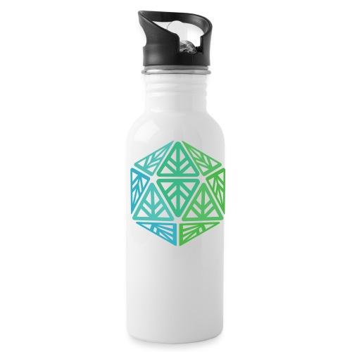 Green Leaf Geek Iconic Logo - Water Bottle