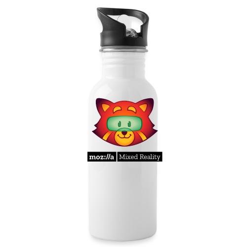 Foxr Head (black MR logo) - Water Bottle