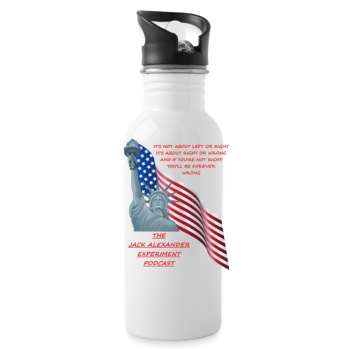 Liberty right wrong - Water Bottle