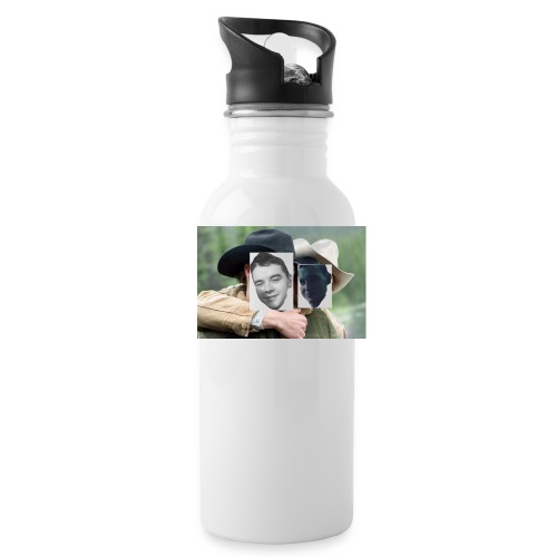 Darien and Curtis Camping Buddies - Water Bottle