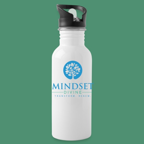 Mindset Divine logo 01 - Water Bottle
