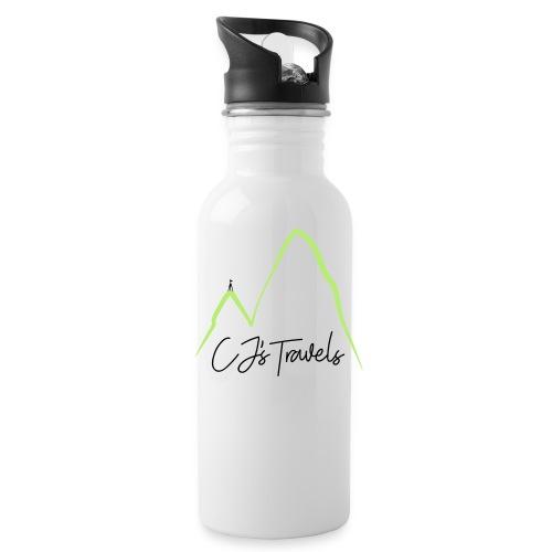 CJ s Travels Secondary - Water Bottle