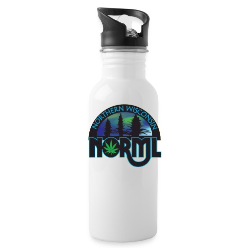 Northern Wisconsin NORML Official Logo - Water Bottle