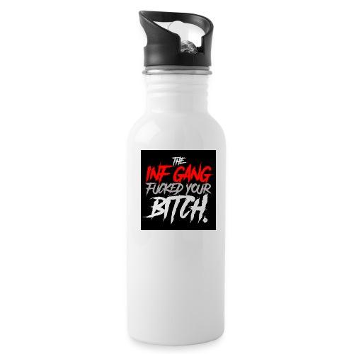 inf_gang_black - Water Bottle