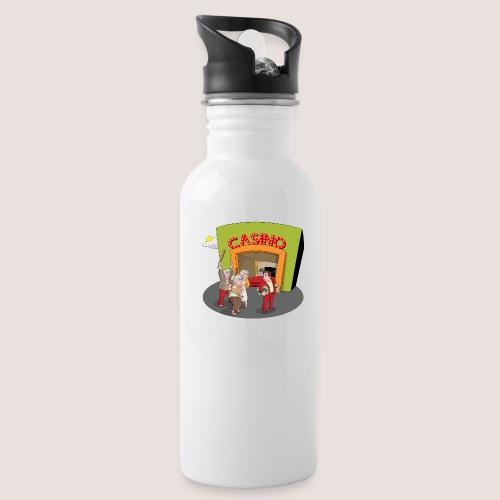 PENSIONERS CASINO REVENGE - Water Bottle