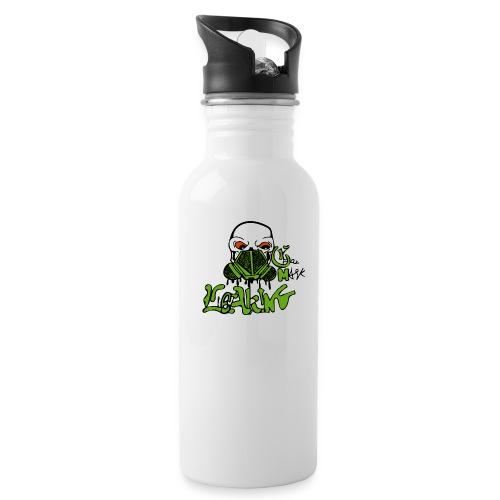 Leaking Gas Mask - Water Bottle