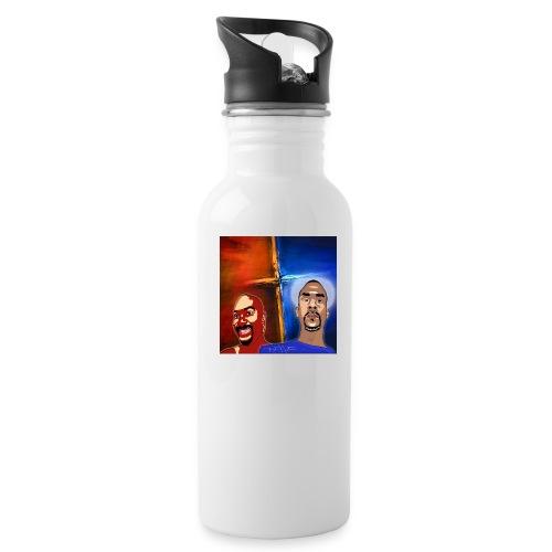 pretty tony galaxy 7 edge case - Water Bottle