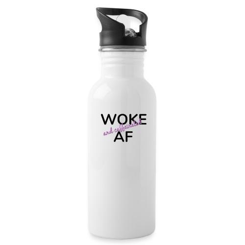 Woke & Caffeinated AF design - Water Bottle
