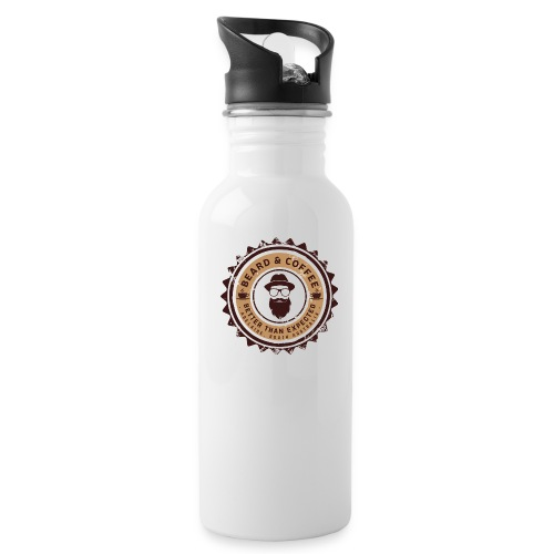 Beard and Coffee Merch - Water Bottle