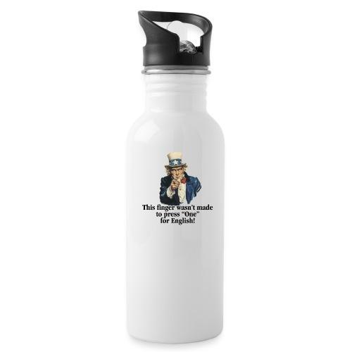 Uncle Sam - Finger - Water Bottle