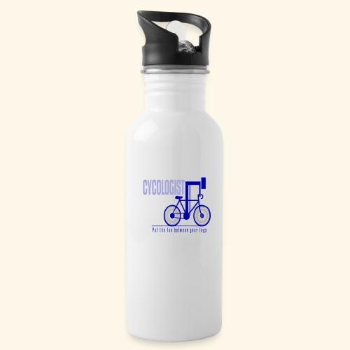 Cycologist T Shirt for Men, Women, Kids, Babies - Water Bottle