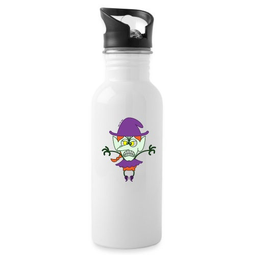 Scary Halloween Witch - Water Bottle