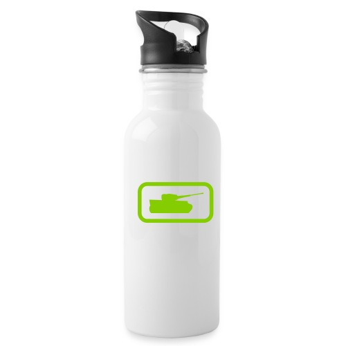 Tank Logo - Multi-Color - Axis & Allies - Water Bottle