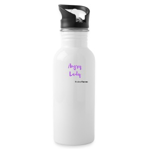 angry lady extra bacon (American Housewife quotes) - Water Bottle