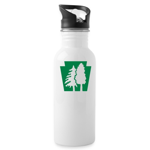 PA Keystone w/trees - Water Bottle