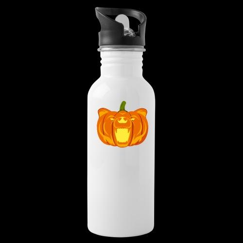Pumpkin Bear - Water Bottle